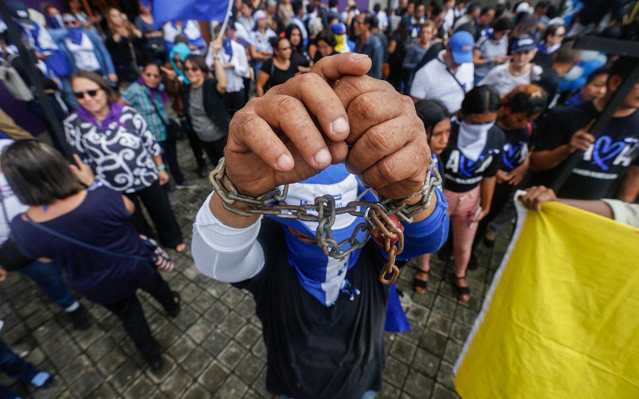 SIGUE EN AUMENTO LAS PERSONAS PRESAS Y PRESOS POLÍTICOS EN NICARAGUA