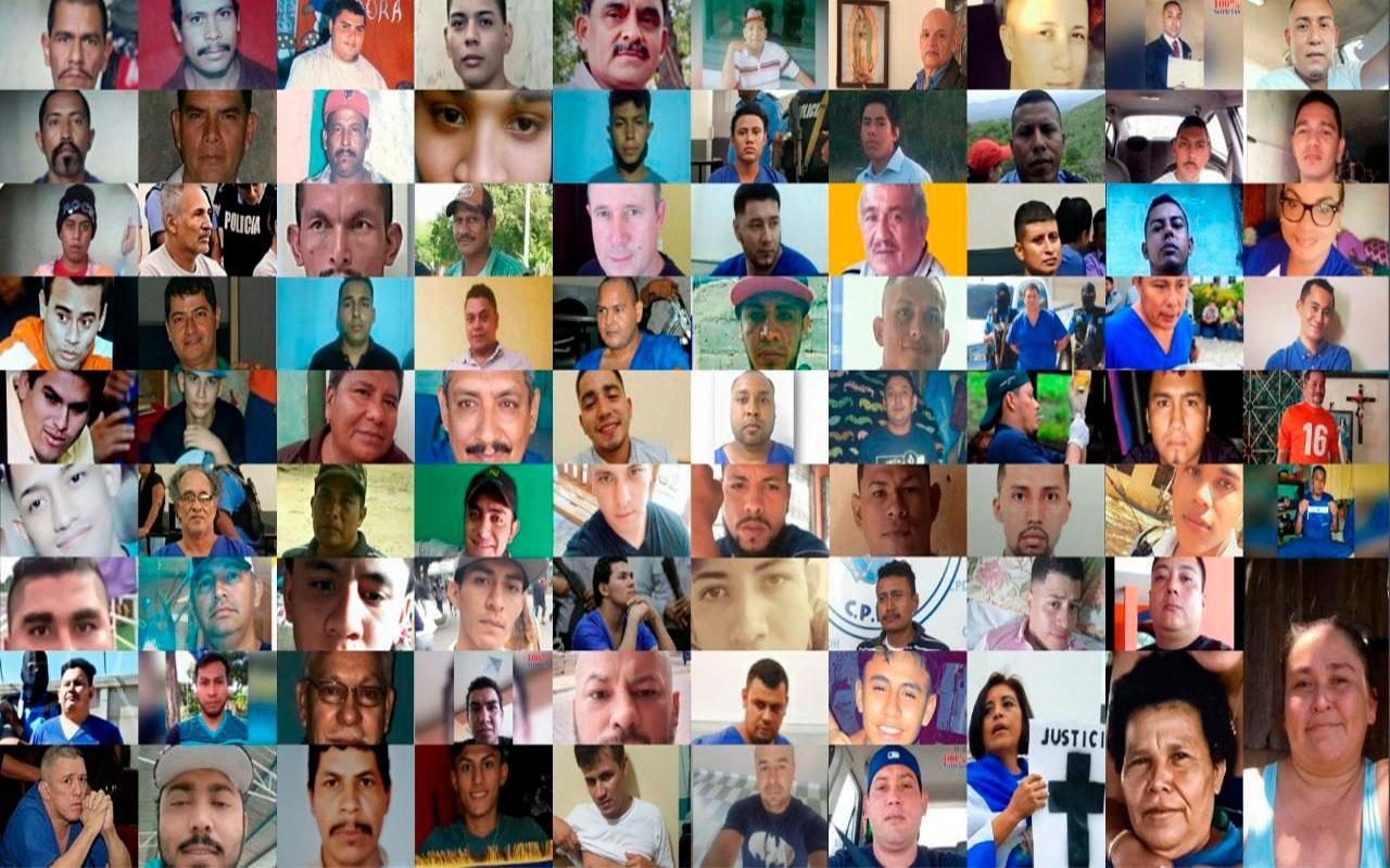 NICARAGUA, 103 PERSONAS DESDE ABRIL 2018 Y 10 PERSONAS ANTES DE ABRIL 2018 SON PRESAS Y PRESOS POLÍTICOS